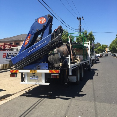 Crane in Sydney
