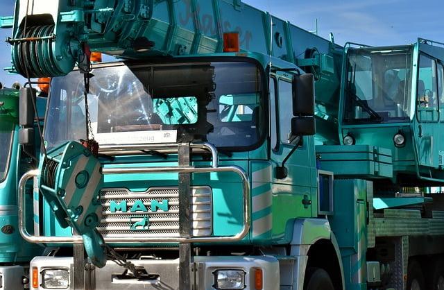 Hiab Truck Mounted Crane
