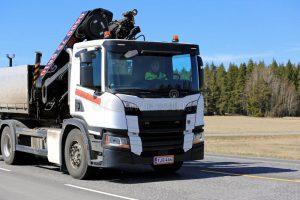 Hiab Truck Crane